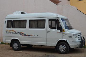 15 Seater Tempo Traveller Rental