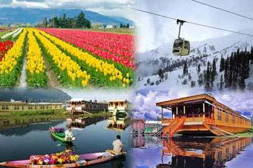 Splendor of Kashmir with Jammu – Srinagar-Sonmarg-Pahalgam-Gulmarg